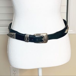 Billy Belts Genuine Leather Black Belt